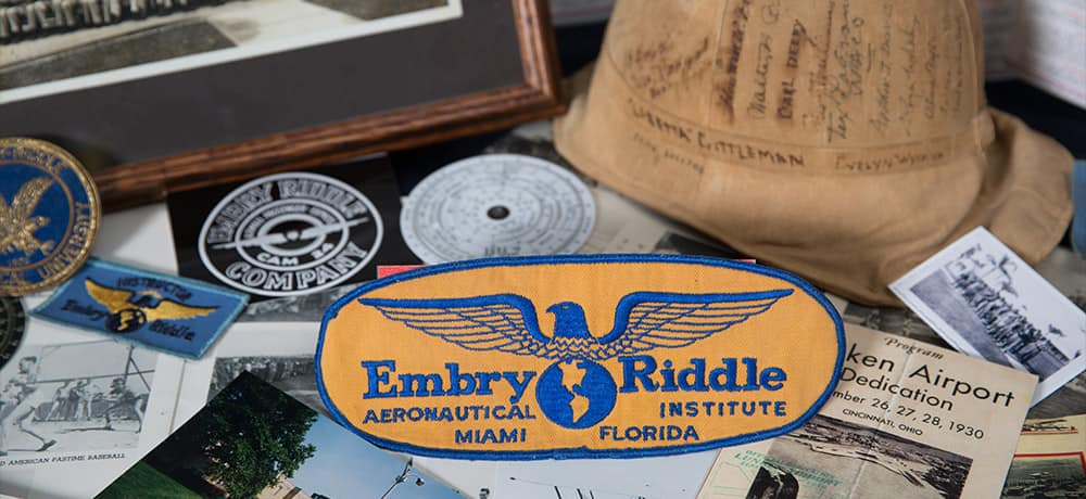 Embry-Riddle Aeronautical University regalia